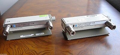 HP Agilent 8494H Programmable Step Attenuator DC-18 GHz, 0 to 11 dB, 1 dB steps