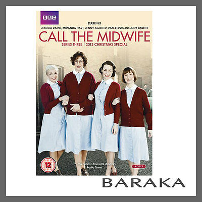 Call the Midwife series season 3 + 2013 Christmas Special DVD R4 BBC