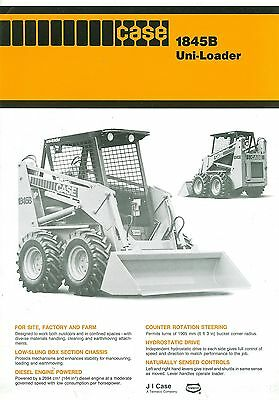Case 1845B Uni-Loader Specification Brochure