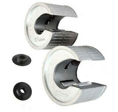 Copper Pipe Tube Cutters Slicers Pipeslice 15Mm & 22Mm Now With Spare Blades