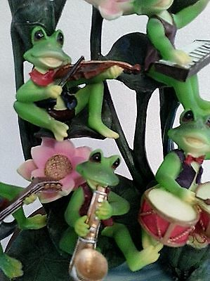 Goldenvale Collection 5 Musical Frogs Sculpture Statue Figurine