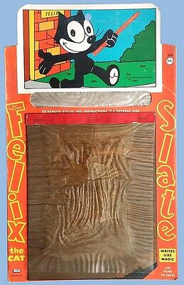 Vintage - Felix The Cat - Magic Slate - Samuel Lowe - #3068 - Pat Sullivan  1960