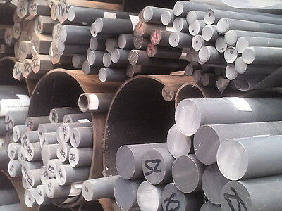 60mm diameter PVC Rod  Grey