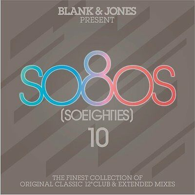 AA.VV. SO80's (So Eighties) Vol.10 (PSB Sisters Of Mercy Cure..) BOX 3CD NEW .cp