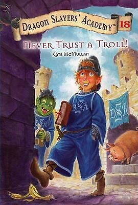 Never Trust a Troll! by Kate McMullan (English) Paperback Book Free Shipping!