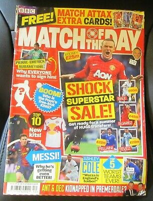 Match Of The Day Magazine Issue No.102 9-15 March 2010