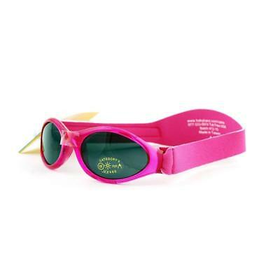 Baby Banz Adventurer Sunglasses 100% UVA/UVB Protection (Ages 0-2yrs) Pink