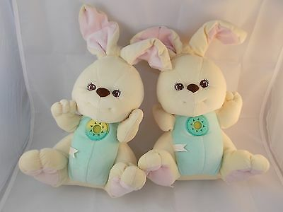 1998 Fisher Price Peaceful Planet Nature Sounds Bunny Rabbit Plush