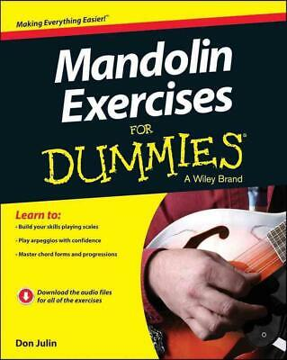 Mandolin Exercises for Dummies by Don Julin Paperback Book (English)