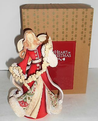 The Heart of Christmas Angel with Star Figurine New in Box