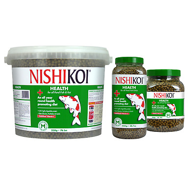 Nishikoi Health Pond Pellets - Koi Fish Food Vitality Immune Booster Feed