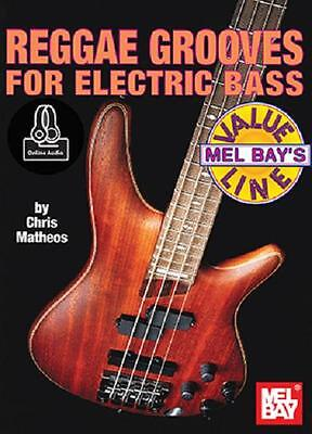 Reggae Grooves For Electric Bass Guitar Book