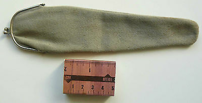 Vintage Cloth Soft Case for Pipe end of XIXc - early XXc Used