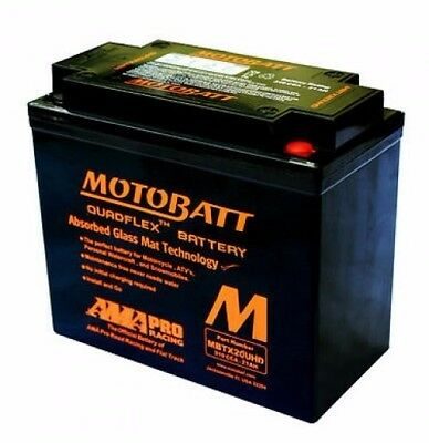 Motobatt Agm Battery For The Harley Davidson Night Rod