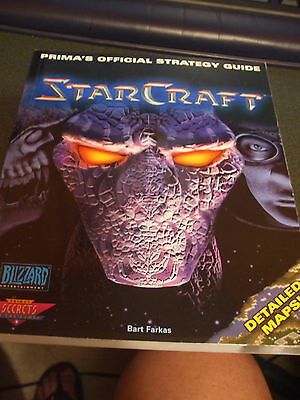 StarCraft : Prima's Official Strategy Guide by Bart Farkas (1998, Paperback)