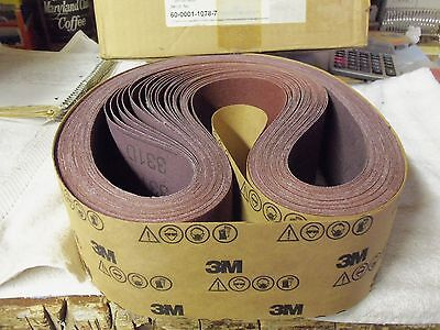 "*3M 051135-14055 331D RB CLOTH BELTS 3"" X 49-1/2"" GRADE P100X - NEW IN BOX OF 56"