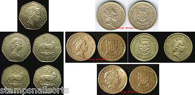 FALKLAND ISLANDS 50p Pence & £1 Pound Coins. Choose your coin Supplied in Coin W