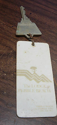 Vintage room key the lodge at pebble beach key and fob room 169 california golf
