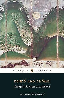 NEW Essays in Idleness by Kenko (English) Free Shipping