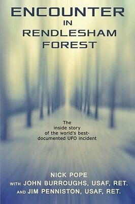 Encounter in Rendlesham Forest -  Nick Pope - BRAND NEW PB BOOK