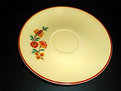 Taylor Smith Taylor China REVEILLE Rooster Saucer/s