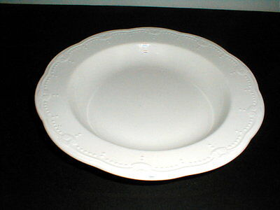 Syracuse Restaurant Ware White JUSTINE Soup/Pasta Bowl/s