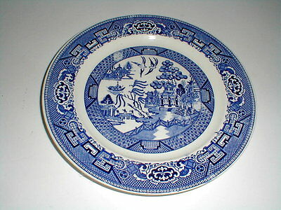 "Homer Laughlin China BLUE WILLOW 10"" Dinner Plate"