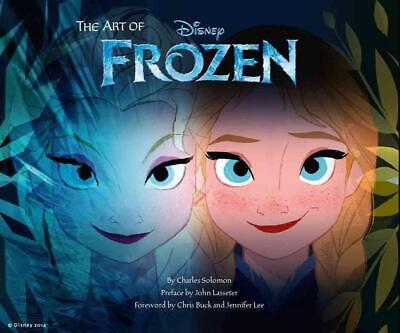 The Art of Frozen by Charles Solomon Hardcover Book (English)