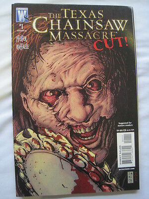 "The TEXAS CHAINSAW MASSACRE : ""CUT"", ONE-SHOT COMPLETE STORY. WILDSTORM. 2007"
