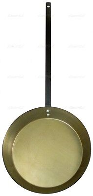 "Big Daddy Fish Fry Skillet 20.5"" Diameter Outside Cooking Camping Pan Fathers"