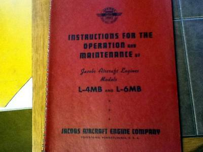 Jacobs L-4MB and L-6MB Operation & Maintenance Manual