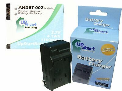 GoPro HERO Battery + Charger Replacement, New, Lifetime Warranty