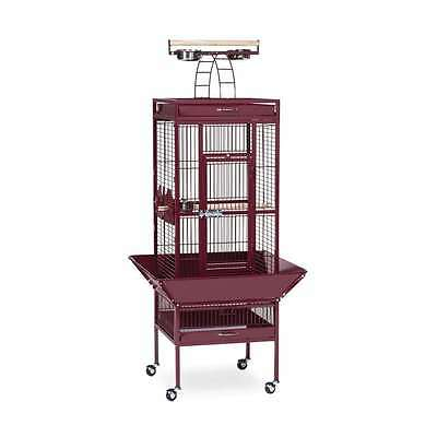 Prevue Hendryx Wrought Iron Select Cage Garnet Red - 3151RED