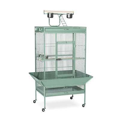Prevue Hendryx Wrought Iron Select Cage Sage Green - 3153SAGE