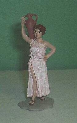 TOY SOLDIERS METAL ANCIENT ROMAN WOMAN  #4 54MM