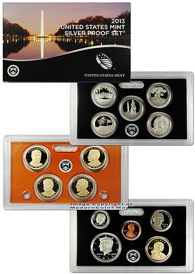 2013 United States US Mint 14 pc Silver Proof Set (SV8) SKU28442