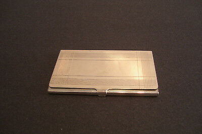 Tiffany and Co 925 Sterling Business Card Case Holder 57 Grams Engraved