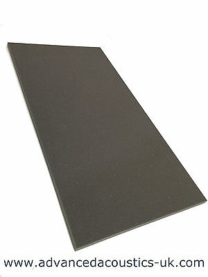 "Advanced Acoustics 1"" Acousti-Slab Studio Foam Panel Acoustic Treatment Grey"