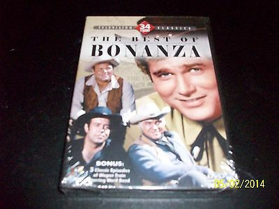 The Best Of Bonanza Brand New & Factory Sealed!!!!! 34 Episodes!!