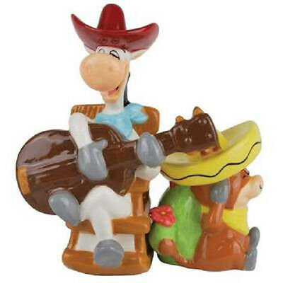 Hanna Barbara Quick Draw McGraw & Baba Looey Salt & Pepper Shakers
