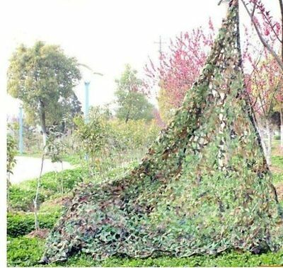 Hunting Camping Camo Military Camouflage Army Woodland Jungle Leaves Net