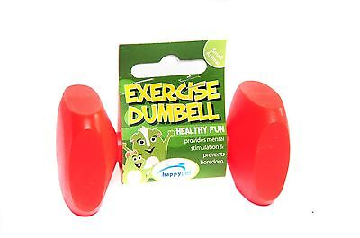 Happy Pet Excercise Dumbell Toy for hamsters, gerbils, mice