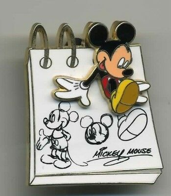 DISNEY MICKEY MOUSE SKETCH PAD SERIES 3D PIN
