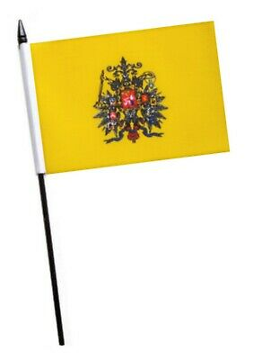 Russia Imperial Standard 1858 to 1917 Small Hand Waving Flag