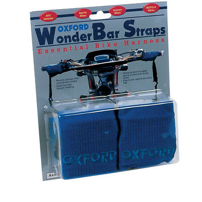 Oxford Wonderbar Motorcycle Tie Down Transport Straps