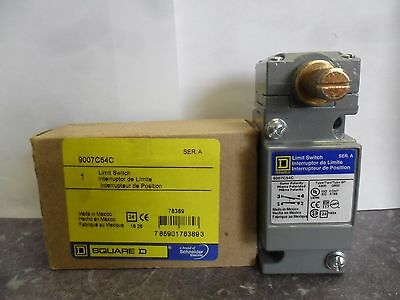 New Square D 9007 C54C 9007C54C Side Rotary Limit Switch Series A Nib