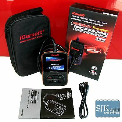 iCarsoft i906 OBD Diagnosegerät für Volvo mit CAN-Bus ABS SRS Motor Getriebe +++
