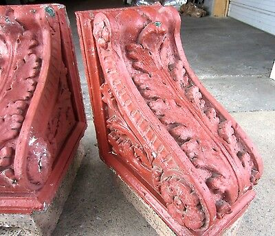 ~ Great Set Of Antique Stone Corbels ~ Architectural Salvage ~