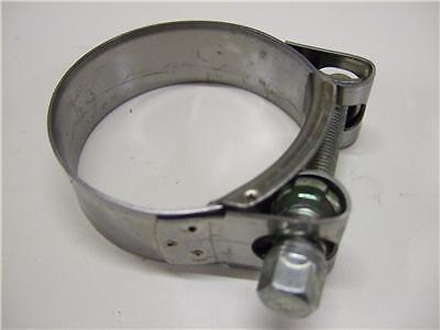Suzuki Bandit Gsf 1200 Stainless Steel Exhaust Clamp