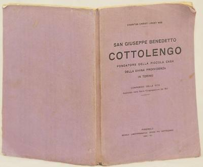 San Giuseppe Benedetto Cottolengo 1917 Piemonte Cuneo Ospedale 1934 Planches